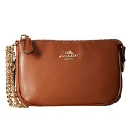 【上新!】COACH 蔻驰 Boxed Program Smooth Nolita 真皮手袋 $54.99(约398元)