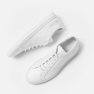 【55专享】Woman By Common Projects Original Achilles Sneaker 女款极简风格小白鞋 数量有限