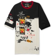 Dolce & Gabbana 杜嘉班纳 Printed Cotton-Jersey 男士T恤