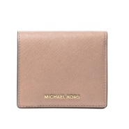 好价!MICHAEL Michael Kors Jet Set Travel 十字纹牛皮短钱夹